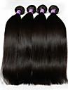 Ret Hårförlängning av äkta hår Peruanskt hår 100+/-5 8-28 Människohår förlängningar