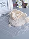 Femei Pană Perle Diadema-Nuntă Ocazie specială Pălărioare 1 Bucată