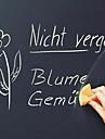 Tablă de scris cu creta Perete Postituri Acțibilduri de Tablă Autocolante de Perete Decorative, Vinil Pagina de decorare de perete Decal