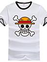 Inspire par One Piece Monkey D. Luffy Manga Costumes de Cosplay Cosplay T-shirt Imprime Manches Courtes Tee-shirt Pour Unisexe