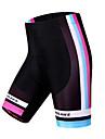 WOSAWE Femme Cuissard Rembourre de Cyclisme Velo Cuissard  / Short / Shorts Rembourres / Bas La peau 3 densites, Sechage rapide, Pare-vent
