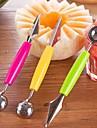 1 Ustensile pentru Fructe & Legume For pentru Fructe pentru legume Plastice Oțel inoxidabil + ABS clasă AO noua sosire Calitate