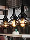Vintage Hängande lampor Till Vardagsrum Sovrum Matsalsrum Studierum/Kontor Barnrum Spelrum Garage AC 100-240V Glödlampa inte inkluderad