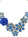 Γυναικεία Μαργαριταρένια Κρεμαστά Κολιέ Κολιέ Δήλωση Μοντέρνο κυρίες Ευρωπαϊκό Μοντέρνα Μπλε Απαλό Ουράνιο Τόξο Βαθυγάλαζο Κολιέ Κοσμήματα Για Πάρτι