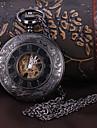 Ανδρικά Ρολόι Τσέπης μηχανικό ρολόι Αυτόματο κούρδισμα Μαύρο Εσωτερικού Μηχανισμού Αναλογικό Πολυτέλεια - Μαύρο