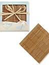 COASTER(Roz,Bambus) -Formă pătrată