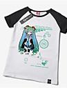 Inspirat de Vocaloid Hatsune Miku Anime Costume Cosplay Cosplay T-shirt Imprimeu Manșon scurt Tricou Pentru Unisex