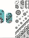1 Nail Art-dekoration - pärlor Blomma Nail Art-design