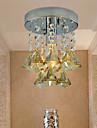Modern/Contemporan Cristal Montaj Flush Lumină Spot Pentru Sufragerie Dormitor Bucătărie Cameră de studiu/Birou Cameră Copii Cameră de