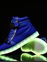 Bărbați Pantofi Piele Primăvară Vară Toamnă Iarnă Confortabili Pantofi Usori Dantelă Bandă Magică Pentru Casual Alb Negru Rosu Albastru
