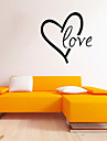 Cuvinte & Citate / Romantic / Forme Perete Postituri Autocolante perete plane,vinyl 43*43cm