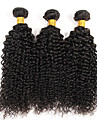 Cheveux Bresiliens Kinky Curly / Tissage boucle Cheveux Vierges Tissages de cheveux humains Tissages de cheveux humains Grosses soldes