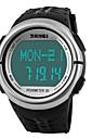 SKMEI Bărbați Ceas Sport Ceas digital Piloane de Menținut Carnea LCD Calendar Cronograf Rezistent la Apă alarmă Monitor Ritm Cardiac