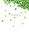 Djur Stilleben Mode Blommig Tecknat Fritid Botanisk Väggklistermärken Väggstickers Flygplan Klistermärken för kylskåp, Vinyl
