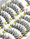 ögonfransar Ögonfrans Hela ögonfransar Ögonfrans Korsvis Naturligt långa Förlängda Lyfta ögonfransar Volym Naturlig Handgjord Fiber