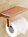 Suport Hârtie Toaletă / Auriu Contemporan
