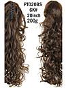 Queue-de-cheval Cheveux Synthetiques Piece de cheveux Extension des cheveux Boucle