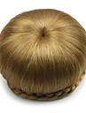 Chignon-nakkeknuder Klassisk / Chic & Moderne Hår knold updo Syntetisk hår Hårstykke Hårpåsætning Klassisk / Chic & Moderne Daglig Beige