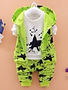 Fecioresc Fecioresc Set Îmbrăcăminte Primăvară / Toamnă Floral Bumbac / Poliester