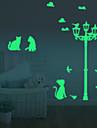 Timp Liber Perete Postituri Autocolante perete luminoase Autocolante de Perete Decorative,vinyl Material Detașabil Pagina de decorarede