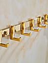 バスローブフック 新古典主義 真鍮 / 亜鉛合金 1枚 - ホテルバス
