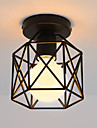 CXYlight Flush Mount Ambient Light - Mini Style, Vintage, 110-120V 220-240V Bulb Not Included