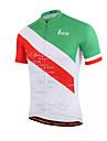 Miloto Maillot de Cyclisme Homme Femme Enfant Unisexe Manches Courtes Velo Chemise Shirt Maillot Hauts/Top Sechage rapide Zip frontal