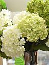 Konstgjorda blommor 1 Gren Minimalistisk Stil Hortensior Bordsblomma