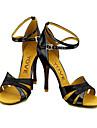 spumante de sclipici glezna curea latine pantofi de dans / sală de bal femei personalizate (de mai multe culori)