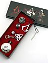 Smycken Inspirerad av Lönnmördare Conner Animé/ Videospel Cosplay-tillbehör Klocka/Armbandsur Dekorativa Halsband Ring Brosch Legering
