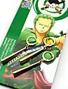 Bijuterii Inspirat de One Piece Roronoa Zoro Anime Accesorii Cosplay Σκουλαρίκια Auriu ABS / Aliaj Bărbătesc / Feminin
