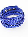 Pentru femei Bratari Wrap - Modă Brățări Albastru / Albastru Deschis / Maro deschis Pentru Nuntă