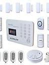 433MHz SMS Telefon 433MHz GSM telefon de alarmă SMS-uri de alarmă sunet de alarmă Alarmă Locală Alarmă Email Sisteme de alarmă Acasă