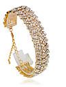 Pentru femei Bratari de tenis - Modă Brățări Argintiu / Auriu Pentru Nuntă