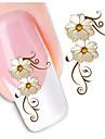 nagel konst nagel Sticker Nagelsmycken / 3D Nagelstickers