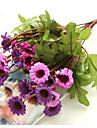 1 ramură Mătase Margarete Față de masă flori Flori artificiale