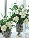 1 1 ramură Mătase Bujori Față de masă flori Flori artificiale 90CM