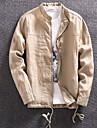 Bărbați Jachetă Simplu - Mată
