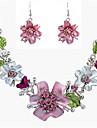 Pentru femei Set bijuterii - Vintage, Modă, Declarație Include Colier / cercei Culori Asortate Pentru Nuntă / Petrecere / Zilnic / Σκουλαρίκια / Coliere