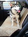 Hond Hoes Voor Autostoel Huisdieren Matten & Pads waterdicht Vouwbaar Zwart Beige Bruin Voor huisdieren