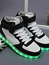 Bărbați Adidași Confortabili Pantofi Usori Imitație de Piele Primăvară Toamnă Iarnă De Atletism Casual Party & Seară Paiete Dantelă LED