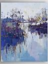 Pictat manual Peisaj Picturi de ulei,Modern Un Panou Canava Hang-pictate pictură în ulei For Pagina de decorare