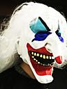 Halloween se confruntă cu masca plin de groază grimasă mascaradă partid costum în mișcare rochie temă a văzut masca de fata glugă