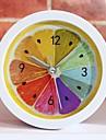 stil nou rural rece de fructe de lamaie ceas cu alarmă moderne ceasuri de birou minimalist ceas de ceas leneș