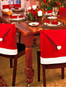 6st julstolstolar till jul och fest dekorationer 65 * 50cm