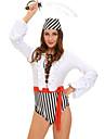 Pirat Costume de carieră Costume Cosplay Costume petrecere Mascaradă Feminin Halloween Carnaval Festival / Sărbătoare Costume de Halloween