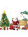 Oameni Crăciun Botanic Perete Postituri Autocolante perete plane Autocolante de Perete Decorative, PVC Pagina de decorare de perete Decal