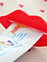 tandkräm dispenser partner läppar tandkräm extruder multi användning klämma anordning för tandkräm (slumpmässiga färger)