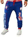 Bărbați Activ Larg Pantaloni Sport Pantaloni Imprimeu