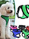 Câine Hamuri Ajustabile / Retractabil Respirabil Mată Nailon Plasă Mov Trandafiriu Rosu Verde Albastru